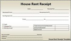 rent receipts click on the download button to get this house rent receipt format