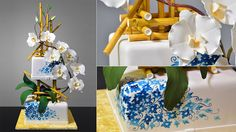 Bamboo and Orchids Cake tutorial just got published! -