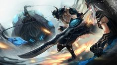League of Legends Sejuani Tryndamere and Ashe