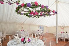 Five ways to decorate your venue ceiling | weddingsite.co.uk