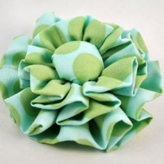 On my blog I show you how to make this really cute spring inspired ruffle corsage quickly and easily.