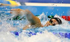 力泳する内田 :フォトニュース - リオ五輪・パラリンピック 2016:時事ドットコム