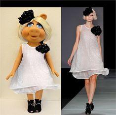 miss piggy clothes - Google Search