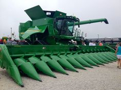 John Deere!!John Deere S690 on tracks.This  was not at the 2013 Farm Science Review