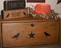 Primitive Breadbox