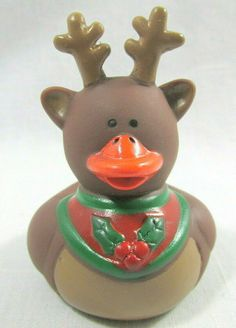 """I Love You Rubber Duck 2/"""" ASL Pink American Sign Language Squirter Deaf"""