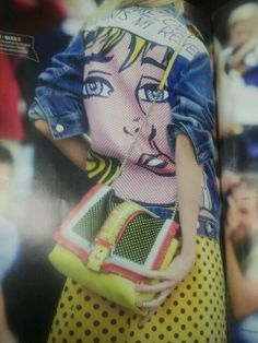 #Lichtenstein #popart #fashion