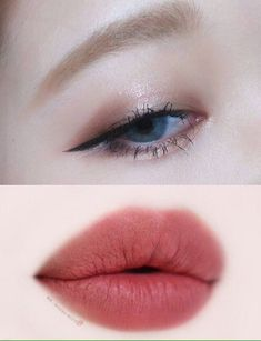 pinterest - @coppermakeup    K-beauty style makeup