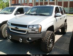 View topic - MDB Fabrication Bumper/Skid Options and Cost Lifted Chevy Tahoe, Chevy S10, Lifted Chevy Trucks, Gm Trucks, Chevrolet Silverado, Cool Trucks, Chevy Trailblazer Ss, Off Road Bumpers, Gmc Envoy
