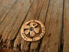 Hey, I found this really awesome Etsy listing at https://www.etsy.com/listing/170417510/grow-in-grace-penny-necklace