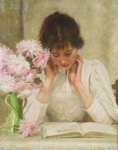 suonko:  The Reading Girl - A.C.W. Duncan