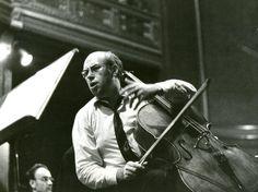 Edit Molnár: Mstislav Rostropovich Budapest, 1967