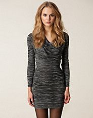Mazie S Dress - Tiger of Sweden - Grey - Dresses - Clothing - NELLY.COM UK