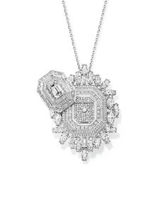 """In the 1920s, women used to conceal their watches by wearing them on the end of a chain so that they could glance at the time with discretion and refinement in society,"" Franck Touzeau, the international watch director for Piaget, said by email. ""Today, secret watches are still a tradition in high jewelry, partly in memory of that time."""