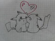 Resultado de imagen para dibujos de pikachu a lapiz