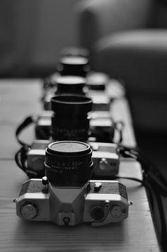https://flic.kr/p/TEDWFf | The Warm Up. | Early spring campaign. | by Samuel Musungayi.  (*) Minolta SRT 303 + Minolta MD 50mm f1.4 + Rollei Chrome CR200. (*) Yashica TL + Carl Zeiss Jena Tessar 50mm f2.8 + Fujifilm Superia 200. (*) Chinon CS + Helios 44M 58mm f2 + Kodak Color Plus 200. (*) Nikkormat EL + Nikkor 35mm f2.8 + Ilford HP5 Plus 400. (*) Konica Autroreflex TC + Konica Hexanon 50mm f1.4 + Adox Color Implosion 100.