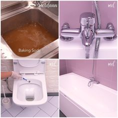 Diy Home Cleaning, Household Cleaning Tips, House Cleaning Tips, Diy Cleaning Products, Cleaning Hacks, Bathroom Hacks, Bathroom Cleaning, Diy Crafts Hacks, Diy Home Crafts