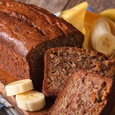 Low Calorie Recipes, Healthy Recipes, Sugar Free Sweets, Healthy Meal Prep, Healthy Sweets, Fajitas, Meatloaf, Food To Make, Banana Bread