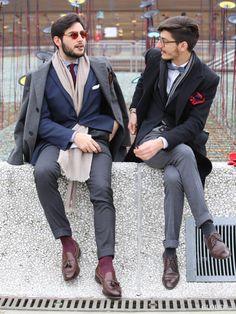 GLOBER | タッセルローファーシューズ Brogue Shoe, Brogues, Men's Fashion, Dress Up, Socks, Pants, Style, Moda Masculina, Trouser Pants