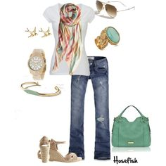Casual day, created by hosefish on Polyvore