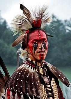 PRIDE An Algonquin native american in traditional costume. #fineartphotography #nativeamerican #portrait #artforsale #maggieterlecki CLICK PHOTO FOR MORE INFORMATION