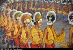 Ubud (Bali, Indonesia): painting at the Neka Art Museum. It's so much more vibrant when you see it in person!