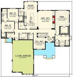 Slab On Grade Bonus Rooms House Plans