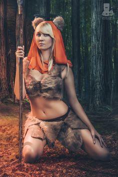 Ewok cosplay by Heather 1337, Edit by truefd.deviantart.com