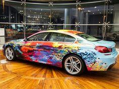 BMW 650i Gran Coupe Gets the Art Car Treatment – automotive99.com