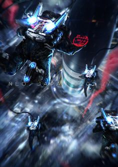 ArtStation - Neo Japan 2202, Johnson Ting