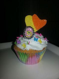 Cup cake little ponny