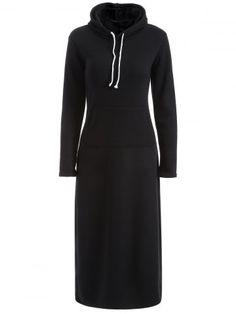 GET $50 NOW | Join RoseGal: Get YOUR $50 NOW!http://www.rosegal.com/long-sleeve-dresses/hooded-flocking-pocket-design-dress-822828.html?seid=7047562rg822828