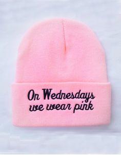 On Wednesdays We Wear Pink Beanie