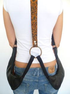 Saddlebag packs... not your average fanny pack!