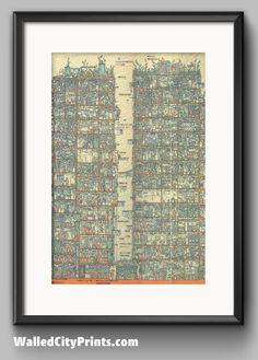 Kowloon Walled City Cross-section by Terasawa Hitomi