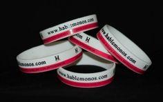 Brazaletes de promoción de  Hablemonos.com. Riega la voz, apoya la difusión del arte y la cultura. Adquiere tu brazalete y dile al mundo que tu también lees Hablémonos.  http://cgi.ebay.com/ws/eBayISAPI.dll?ViewItem=160920952763      Promotion Rubber Brcelets @ $0.99