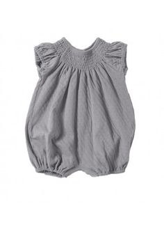 Tane Organics : Rounded Romper for Baby Girl #kidsfashion