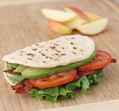 This Avocado BLT is an easy, portable and healthy lunch idea you'll want to pack! www.emilybites.com