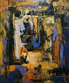 "Glassed Window by Donald Fox Oil ~ 21-1/2"" x 18-3/8"""