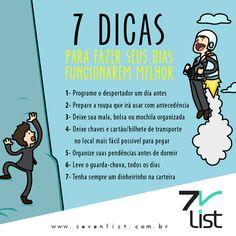 #Lista #List #Sevenlist #Desenho #Dicas #Rotina #Dia #Funcionar #Diasmelhores #Programar #Despertador #Roupa #Mala #Antecedência #Chaves #Cartão #Transporte #Organização #Dormir #Guardachuva #Dinheiro #Carteira www.sevenlist.com.br
