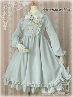 Victorian maiden. Kinda her style.