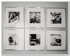 Magnificent Silver Picture Frames On Wall with black and white family photos. Need to do this in the living room! The post Silver Picture Frames On Wall with black and white f . Family Photo Frames, Family Wall, Family Photos, Mirrored Picture Frames, White Picture Frames, Gallery Wall Frames, Frames On Wall, Black And Silver Living Room, Black Silver
