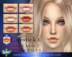 Lipstick by Mia Mirra at MIA8 via Sims 4 Updates