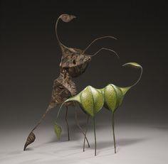 Joyce Utting Schutter's Mixed-Media Sculptures Evoke Nature | Hi-Fructose Magazine