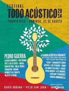 Festival Todo Acústico 2014 @ Bahía Urbana, Viejo San Juan #sondeaquipr #festivaltodoacustico #bahiaurbana #viejosanjuan #sanjuan #festivalespr