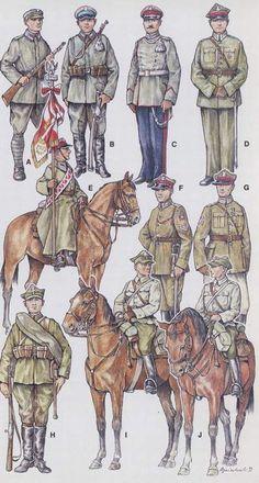 Begin. of WWII 10th Polish Uhlan Regim./10 Pułk Ułanów/Author: prof. Andrzej Jeziorkowski Military Art, Military History, Poland Ww2, Ww2 Uniforms, Central And Eastern Europe, Army Uniform, Armed Forces, World War Two, Troops