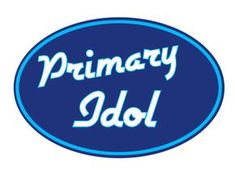 SINGING TIME IDEA: Primary Idol!  Such a fun and cute idea!  FREE Printables included!  Good idea for song review before program!