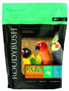 20% cut off Roudybush Daily Maintenance Bird Food, Mini, 44-Ounce