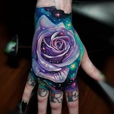 tattoo Hand Tattoo Ideas: Most Beautiful Hand Tattoo Designs Galaxy Tattoo Sleeve, Best Sleeve Tattoos, Galaxy Tattoos, Space Tattoo Sleeve, Pretty Tattoos, Beautiful Tattoos, Cool Tattoos, Fish Tattoos, Tatoos