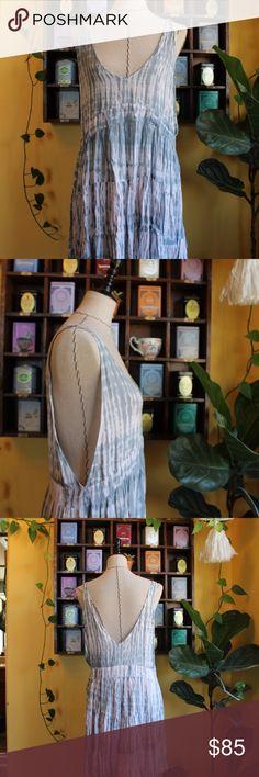 Acacia Havana Rayon Dress, Size M, NWT! Acacia Havana Rayon Dress, Shibori color, Size M, NWT! acacia swimwear Dresses Mini